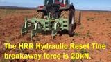 RIPPER HYDRAULIC RESET FOR DEEP RIPPING HRR850 by ERDVARK.