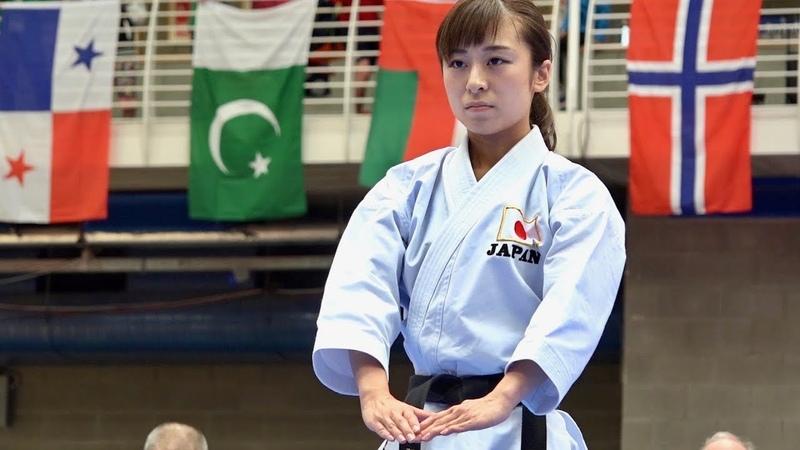 空手女子「観空大」の世界(2017・2018 )Kanku-dai in All Japan World Tournament