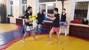 Урок тайского бокса N 13 Локти как бить эффективно удары со сбивом