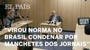 Virou norma no Brasil condenar por manchetes dos jornais