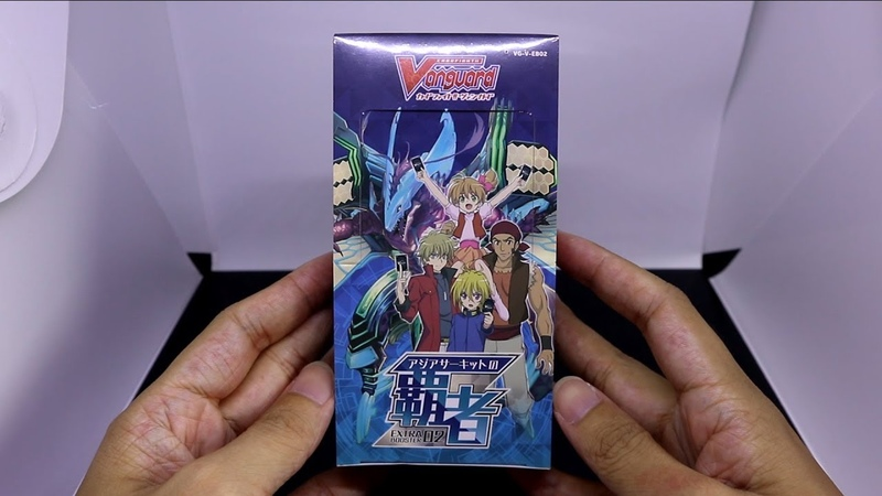 CARDFIGHT!! VANGUARD Champions of the Asia Circuit Booster Box Opening [V-EB02]