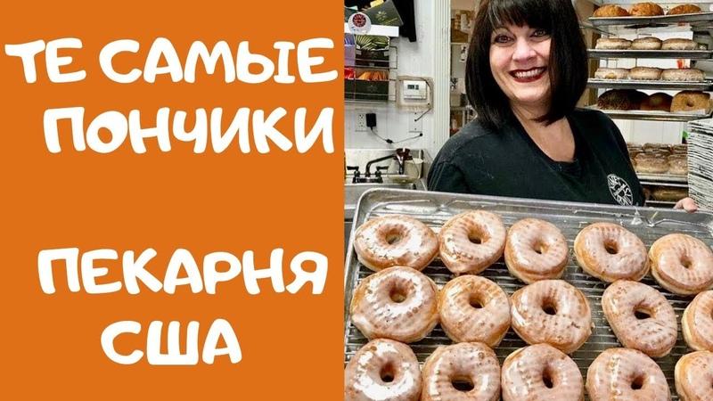 Как делают настоящие пончики (ДОНАТСЫ) Пекарня с 1955 года Kanes Donuts in Saugus