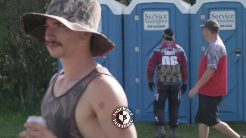 Porta-Potty Clown Prank @ 2018 NXL Chicago Open with Jake Team Insanity