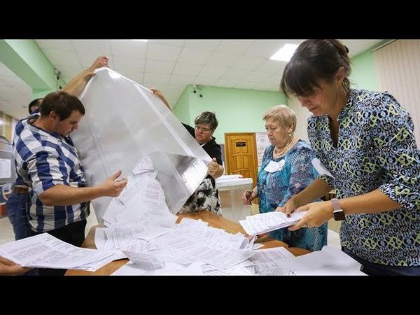 В ожидании пересчета Как развивается скандал на выборах в Приморье