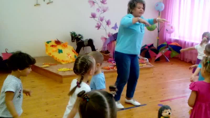 Танцую с детьми