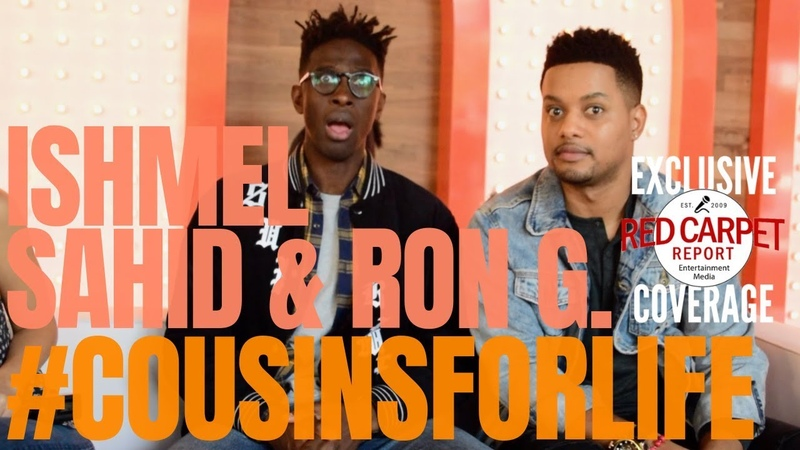 Ishmel Sahid Ron G. interviewed at Nickelodeon's Fall Party with Cast of Cousins for Life