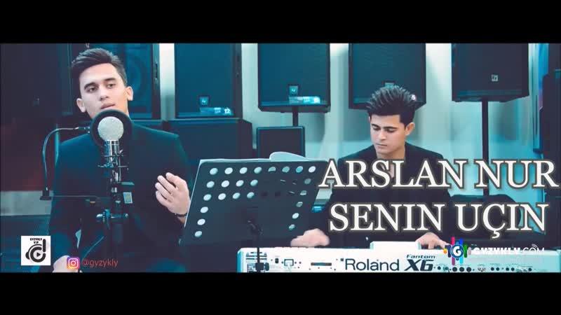 Arslan Nur - Senin uchin (acustik cover Video) HD