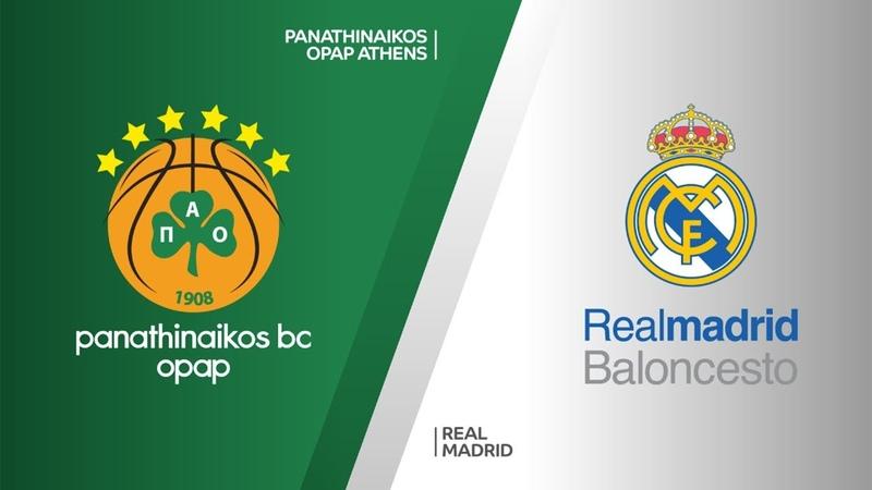Panathinaikos OPAP Athens - Real Madrid Highlights   Turkish Airlines EuroLeague PO Game 3. Евролига, третий матч плей-офф. Обзор. Панатинаикос - Реал