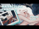 LIFE OF AN ARTIST Painting for an Exhibition [Ep. 3]