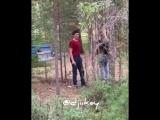 Мужчина вывез женщину в лес и избивал на Маганском тракте.Якутск.16.08.2018