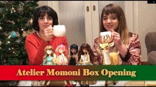 Atelier Momoni Box opening on Christmas, by Mania and Angela