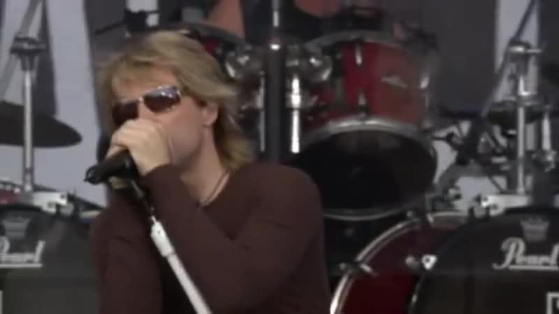 Bon Jovi - Livin' On A Prayer (Live 8 2005) (1)