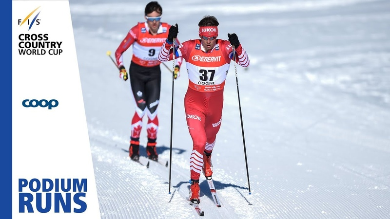 Alexander Bessmertnykh Men's 15 km Cogne 3rd place FIS Cross Country