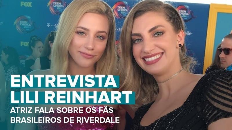 Интервью Лили с ковровой дорожки молодежной церемонии награждения «Teen Choice Awards 2018»