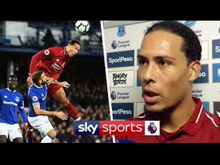 """it says a lot that they celebrated a 0-0!"" - virgil van dijk on drawing with everton"