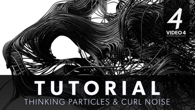 Curl Noise in Xpresso (Without X-particles) - CINEMA 4D TUTORIAL