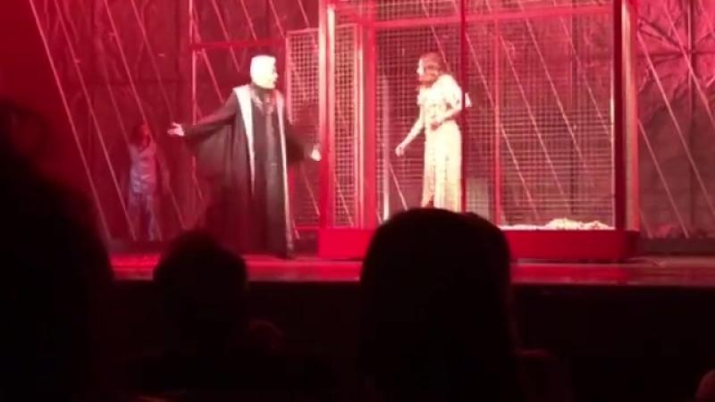 NDDP Квебек 2018 Visite de Frollo à Esmeralda Un matin tu dansais