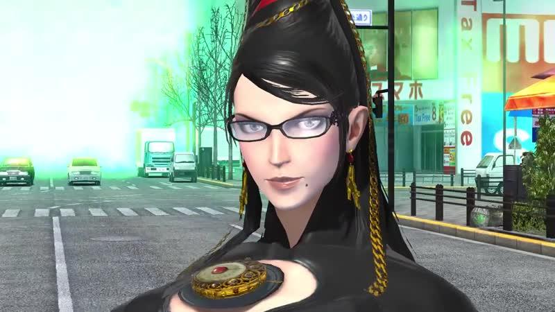 ベヨネッタ×D2メガテン コラボティザームービー Dx2 Shin Megami Tensei