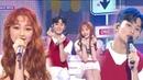 [Special Stage]MARK X MINA - A midsummer night's sweetness , 마크X미나 - 한여름밤의 꿀 Music core 20180811