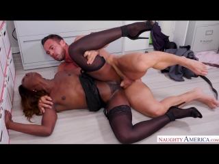 Ana Foxxx, Johnny Castle  Naughty Office  Aug 18, 2018 NEW  HD American, Ass licking, Ass smacking, Black, Blow Job