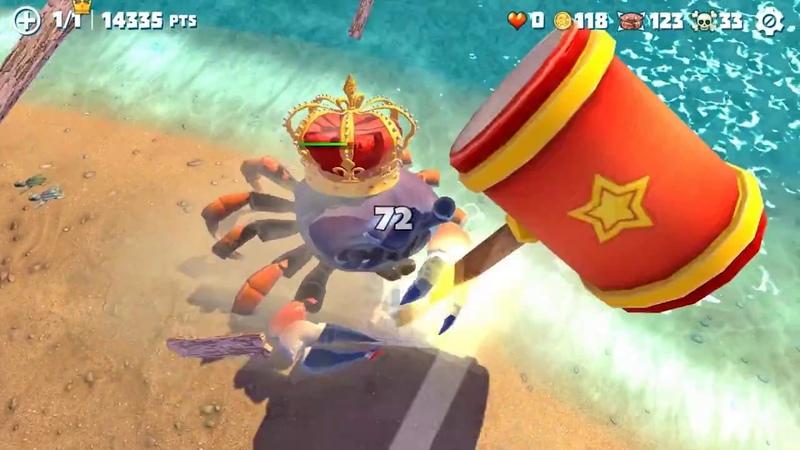 [Обновление] King Of Crabs - Геймплей | Трейлер » Freewka.com - Смотреть онлайн в хорощем качестве
