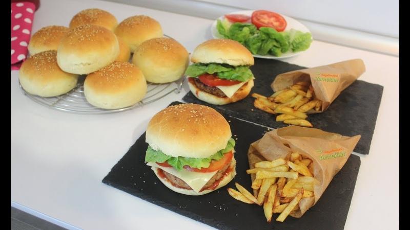 Gerçek Hamburger Tarifi En iyi Hamburger Ekmeği ve Köftesi Nasıl Yapılır Hayalimdeki Yemekler