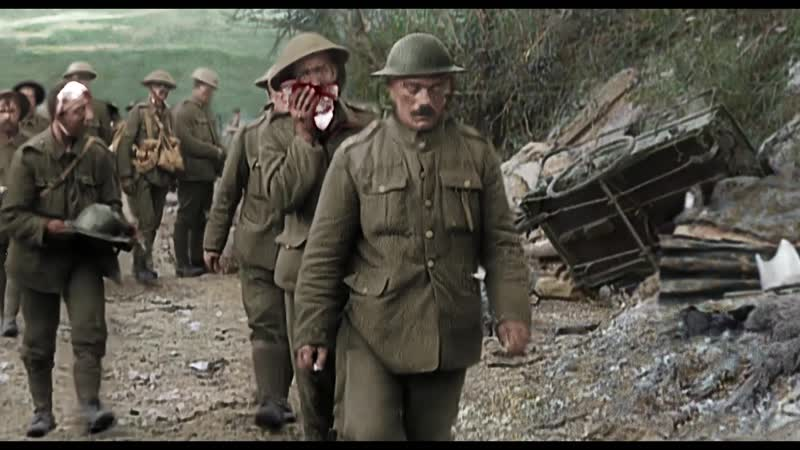 They Shall Not Grow Old (2018) - A clip from Peter Jacksons new film of restored WWI footage
