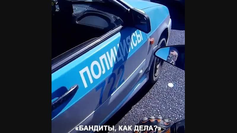 Шымкентский охотник гонялся за полицей отоцикле 1080p mp4