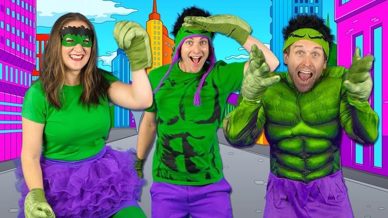 Kids Superhero Song - Lets Be Superheroes | Action Songs for Kids - Bounce Patrol