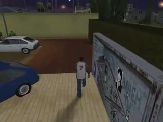Стена Цоя в GTA San Andreas