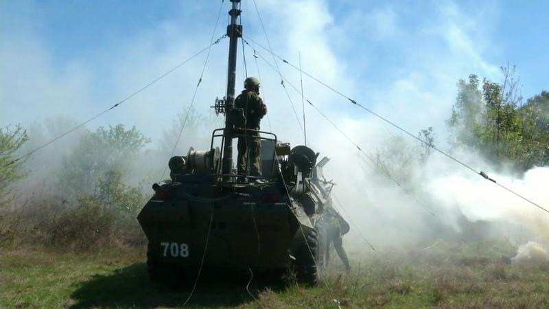 Военные связисты ЮВО в Абхазии провели более 150 специальных учений и тренировок