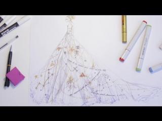 The Savoir-Faire Of Chiara Ferragni's Party Dress