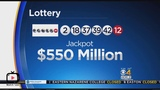 Powerballs jackpot surges to $550 million 2019 BUYING MY TICKET REACTION