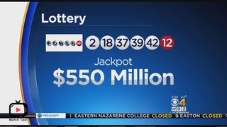 Powerball's jackpot surges to $550 million 2019 BUYING MY TICKET REACTION