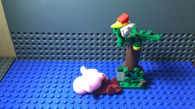 Свинья и дуб
