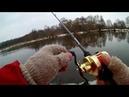 Зимний BAITCASTING на реке / Что за день - сплошные сходы / Джиг