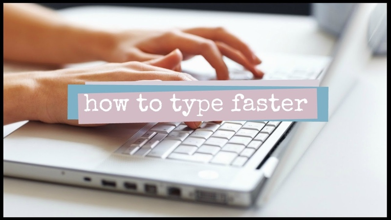 How to Improve Typing Speed 2 Minute Study Tips