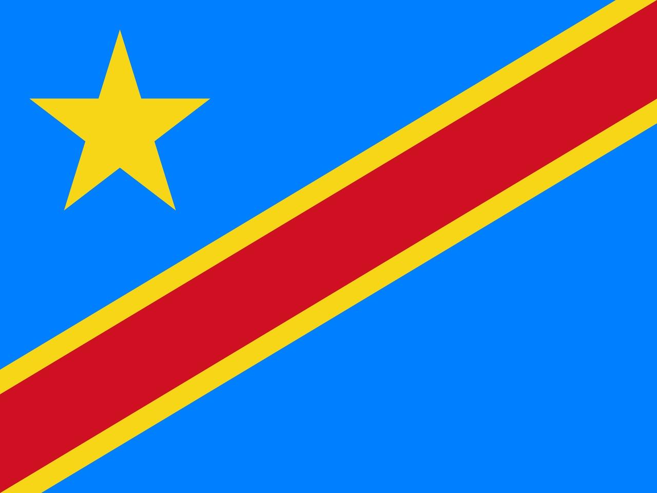 Флаг Демократическая Республика Конго