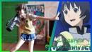Аниме фигурка Каминаги Рёко Дзэгапэйн Anime figure Zegapain