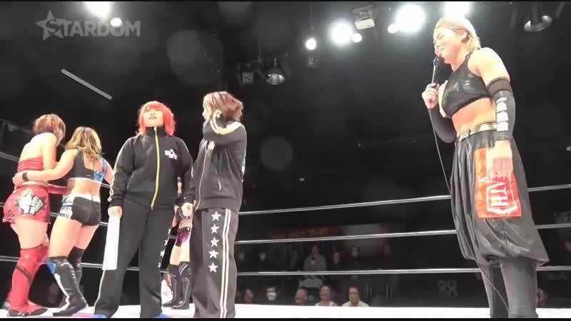 Oedo Tai (Hazuki, Jamie Hayter Kagetsu) vs. Queen's Quest (AZM, Momo Watanabe Utami Hayashishita)