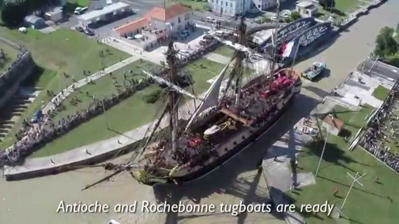 The Hermione frigate from 2012 to September 2014