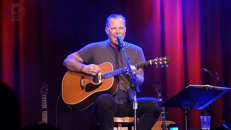 James HETFIELD - Full Show at Acoustic 4 a Cure - 15 May 2014 - Fillmore, San Francisco CA