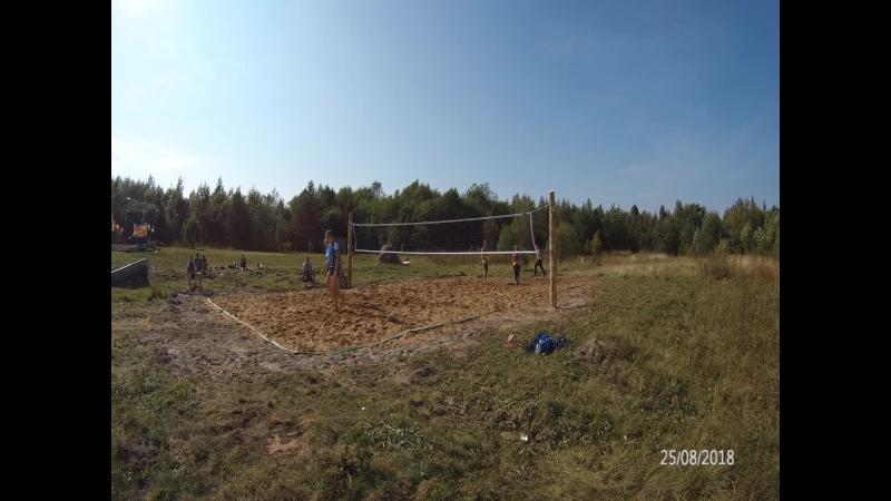 25.08.2018г. Пляжный волейбол в с.Рыбрека день Горняка