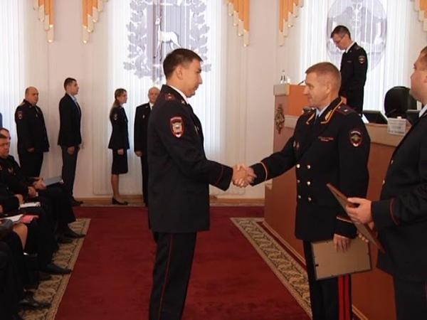 Награждение в ГУ МВД России по Самарской области 18 09 18