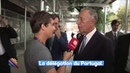 French journalist Vs Portuguese President