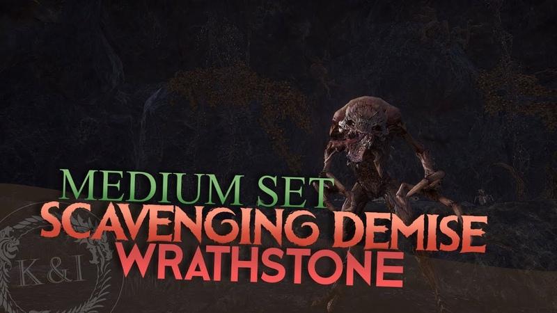 ESO: Scavenging Demise Medium Set | Wrathstone
