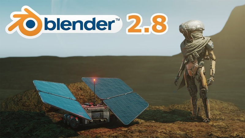 BLENDER 2.8 OVERVIEW - Eevee, Grease Pencil, Matcaps More
