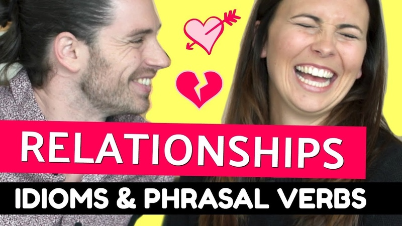 Talking about LOVE in English ❤️❤️❤️ Idioms Phrasal Verbs ft Mark Rosenfeld