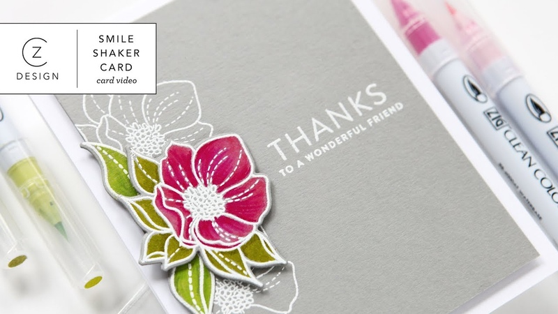 Zig Clean Color White Embossing