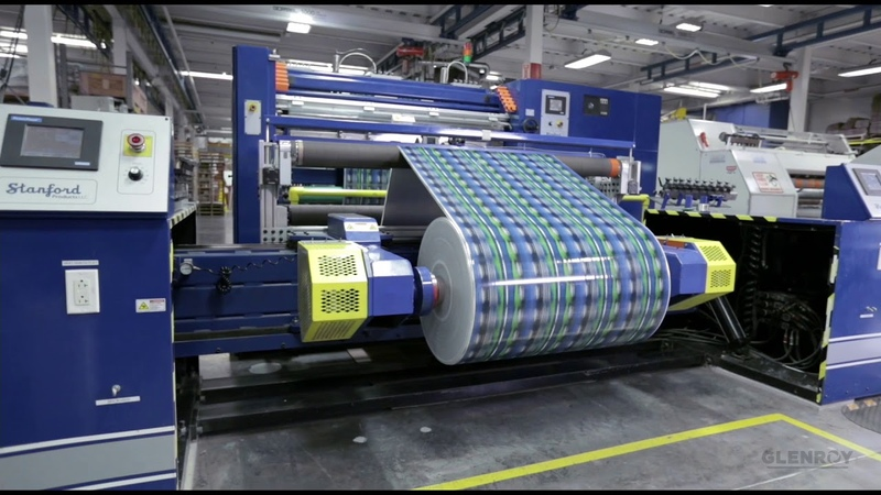 Glenroy's Flexible Packaging Manufacturing Process